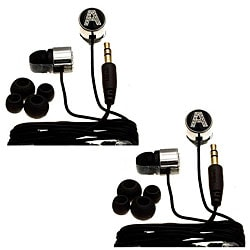 Nemo Digital Black Crystal 'A' Earbud Headphones (Case of 2)