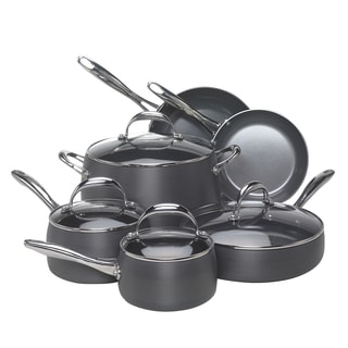 EarthPan 10-piece Hard Anodized Cookware Set