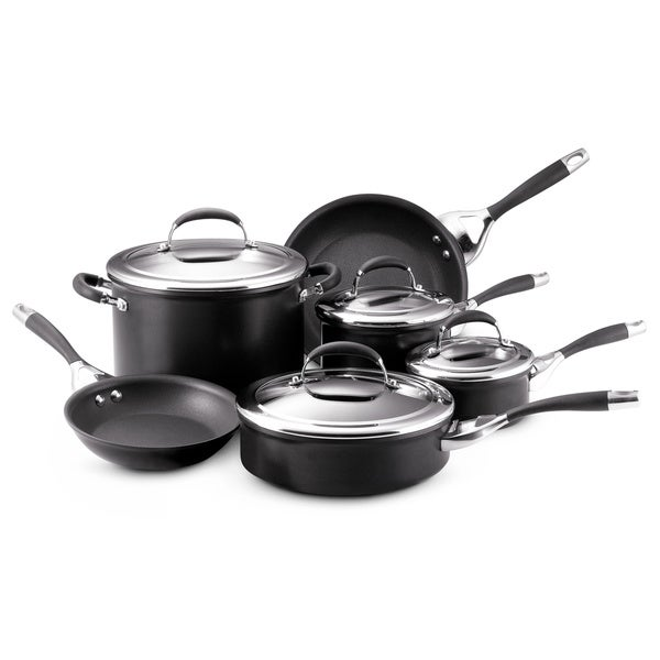 Circulon Elite Hard Anodized 10-piece Cookware Set 6951619
