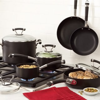 Circulon Contempo Hard Anodized Nonstick 10-piece Set