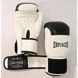 16-oz White Boxing Gloves