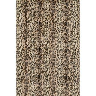 Jungle Cheetah Print Rug (5' x 7'6)