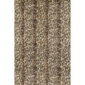 Jungle Cheetah Print Rug (5' x 7'6)