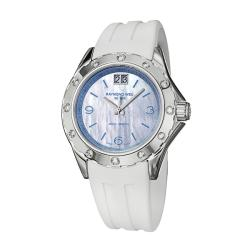 Raymond Weil Women's 'RW Spirit' Stainless Steel Diamond Watch