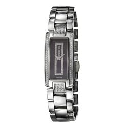 Polished Raymond Weil Women's 'Shine' Stainless Steel Diamond Watch