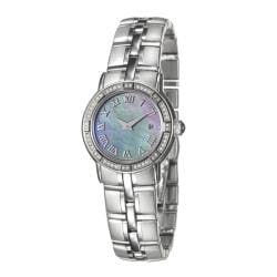 Raymond Weil Women's 'Parsifal' Stainless Steel Diamond Watch