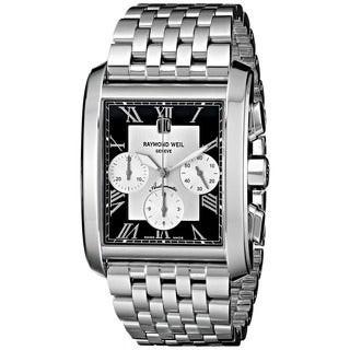 Raymond Weil Men's 'Don Giovanni' Stainless Steel Chronograph Watch