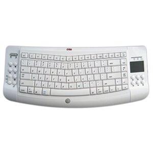 Ergoguys Wireless Ergonomic Keyboard Mac Touchpad White