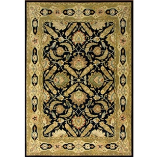 Hand-tufted Beige Wool Rug (8' x 10')