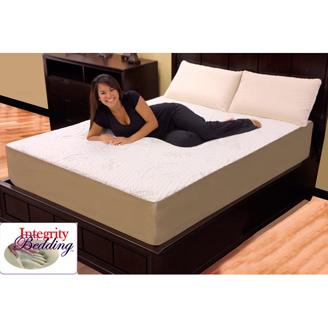 Orthopedic 12 Inch Full Size 4 Layer Memory Foam Latex Mattress 12947869