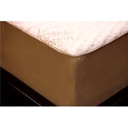 Orthopedic 12-inch California King-size 4-layer Memory Foam / Latex Mattress
