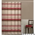 Maytex Meridian Stripe Shower Curtain