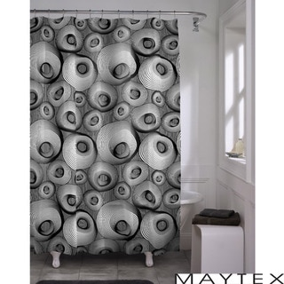 Maytex Wobble PEVA Shower Curtain