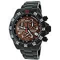 Roberto Bianci Men's 'Professional Commando' Black Chronograph Watch
