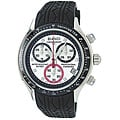 Roberto Bianci Men's Professional Commando Rubber Strap Chronograph Watch