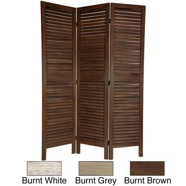 Classic Venetian Wood 5.5-foot Room Divider (China)