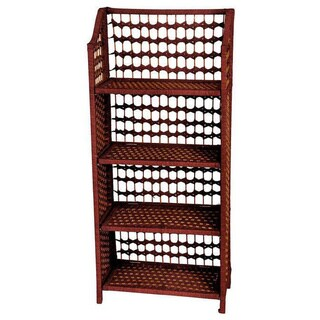Natural Fiber 43-inch Shelving Unit (China)