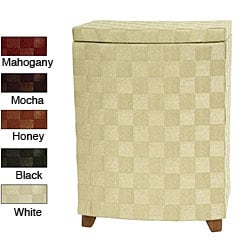 Natural Fiber 27-inch Laundry Hamper (China)
