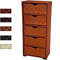 Natural Fiber 41.5-inch Chest of Drawers (China)