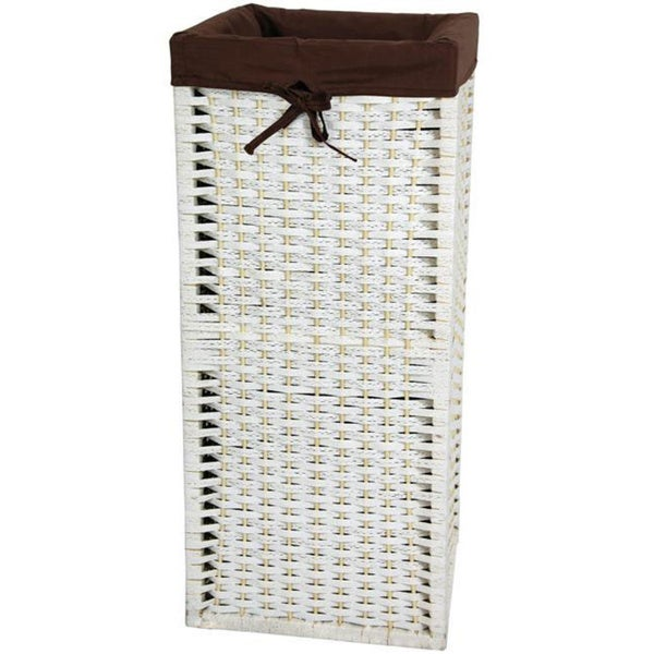 Natural Fiber 28-inch Laundry Hamper (China)