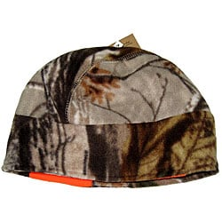 Reversible RealTree/ Blaze Orange Fleece Hat w/ Warmer Pair