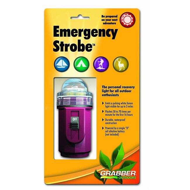 Emergency Strobe Xenon Flashing Safety Signal Clear Lens Light