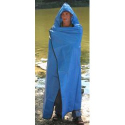 SPACE Brand Hooded All-Weather Thermal Blanket/ Poncho