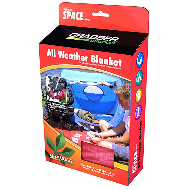 SPACE Brand All-Weather Super Insulating Thermal Blanket