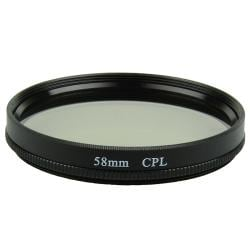 58mm Circular Polarizing Lens Filter
