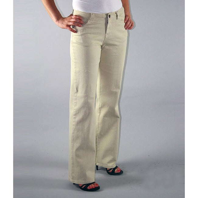 Institute Liberal Women's Six-Pocket Stretch Twill Bootcut Pants