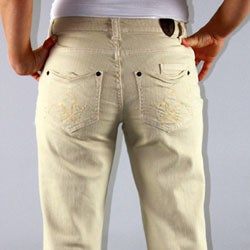 Institute Liberal Stretch Twill Signature Stitch Boot Cut Pants