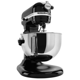 KitchenAid KV25G0XOB Onyx Black 5-quart Pro 5 Plus Bowl-Lift Stand Mixer