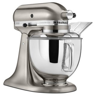 KitchenAid KSM152PSNK Brushed Nickel 5-quart Custom Metallic Tilt-Head Stand Mixer **with Cash Rebate**