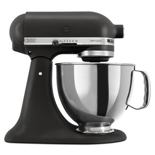 KitchenAid KSM150PSBK Imperial Black 5-quart Artisan Tilt-Head Stand Mixer **with Cash Rebate**