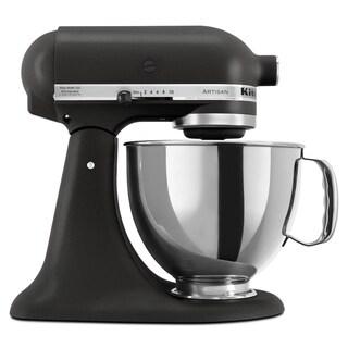 KitchenAid KSM150PSBK Imperial Black 5-quart Artisan Tilt-Head Stand Mixer **With Rebate**