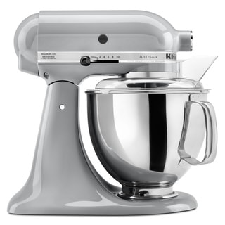 KitchenAid KSM150PSMC Metallic Chrome 5-quart Artisan Tilt-Head Stand Mixer **with $30 KitchenAid mail-in cash rebate**