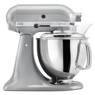KitchenAid KSM150PSMC Metallic Chrome 5-quart Artisan Stand Mixer*plus Overstock $30 gift card and $30 KitchenAid mail-in-rebate