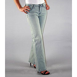 Institute Liberal Women's Light Blue Stretch Logo Pocket Jeans