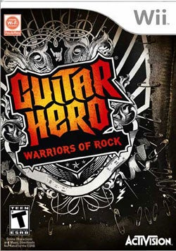 Wii - Guitar Hero: Warriors of Rock- By Activision Inc.