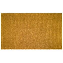 Plain Outdoor Coconut Fiber Extra-thick Door Mat (1'6 x 2'6)
