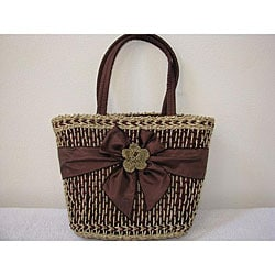 Handmade Agel Flower Ribbon Bag (Indonesia)