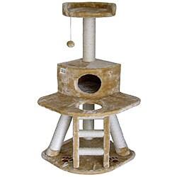 Go Pet Club Cat Tree 50-inch Condo Scratcher
