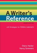 A Writer's Reference: With Strategies for Online Learners (Spiral bound)