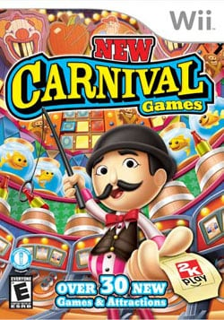 Wii - New Carival Games By Take 2 Interactive
