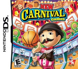 NinDS - New Carival Games