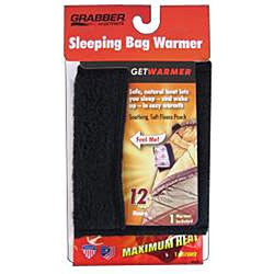Grabber Super Soft Fleece Black Sleeping Bag Warmer