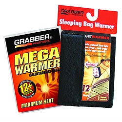 Grabber Black Super Soft Fleece Sleeping Bag Warmer Pouch