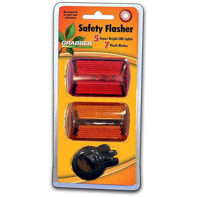 5 LED Ultra-compact Lightweight 7-function Safety Flashing System