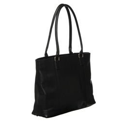 Royce Women's Vaquetta Leather 15-inch Laptop Tote