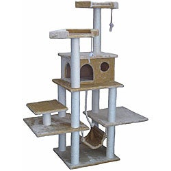 Cat Tree Condo House Scratcher 72-inch Furniture